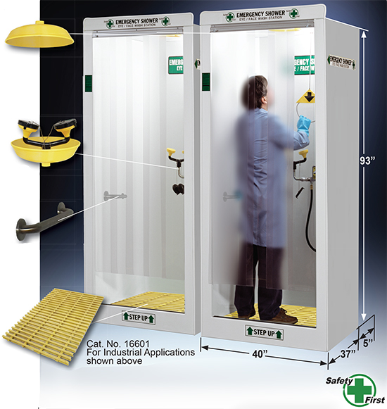 Emergency Decontamination Booth